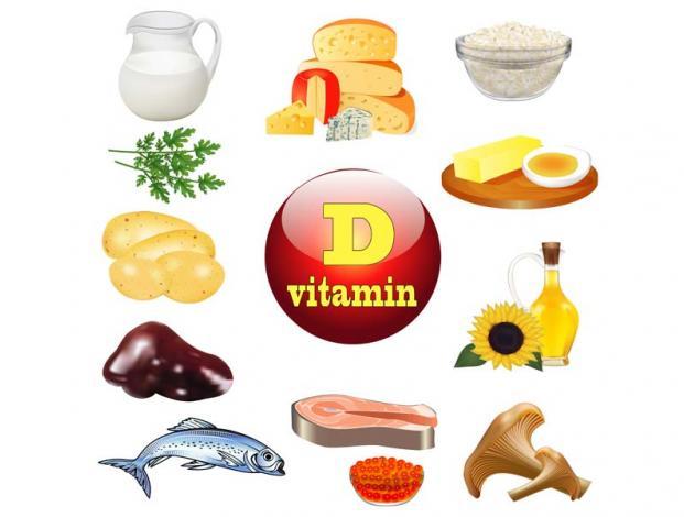 Mengkonsumsi makanan yang mengandung vitamin D